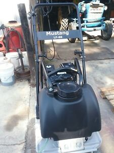 Mustang Lf 88 Vibratory Plate Compactor W Water Tank new