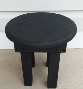 Rustic Primitive Country Foot Stool Bench Country Home Decor