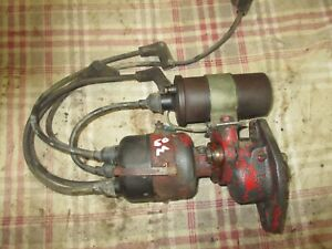 Farmall M H Mta Working Used 12 Volt Distributor Nice One Antique Tractor