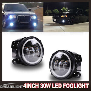 Led Halo Ring Daytime Running Lights fog Lamps W Wirings For 07 13 Tundra