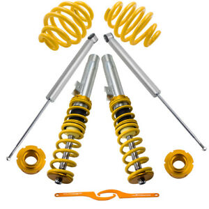 Coilovers Kit Fit Bmw E46 320 323 325 328 330 335 Coupe Sedan Shocks Yellow