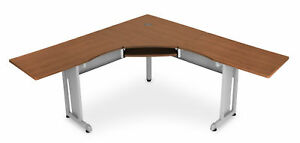 Office Furniture 72 Inch X 72 Inch L shaped Workstation With 24 Deep Top