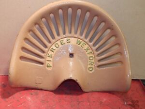 Pierces Wexford Vintage Cast Iron Tractor Implement Seat Farm Collectables