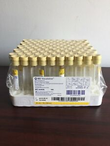 Bd 364606 Venous Blood Collection Tube Whole Blood Acd Solution A 16 X 100