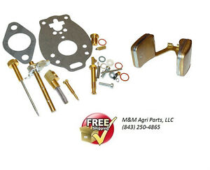 Complete Carburetor Kit Float Massey Ferguson Mf 35 50 135 150 To35 202 204