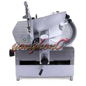 12 Table Automatic Commercial Slicer Planer Fattening Machine 220v 250w New