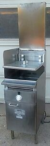 Keating Bb 14 Instant Recovery Electric Deep Fryer 109 000 Btu Free Shipping