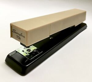 New In Box Vintage Swingline Centron Stapler 776 Instructions 1970s Beige Brown