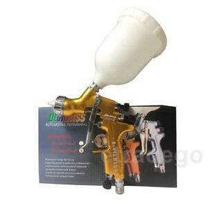 Hvlp Devilbiss Hd 2 Spray Gun Gravity Feed For All Auto Paint Topcoat Touch Up