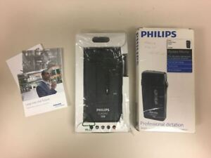 Philips Lfh0388 Pocket Memo Slide Switch Mini Dictation Recorder 010 1863461