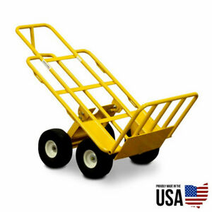 Multi Mover 67243 Heavy Duty Hand Truck Commercial Dolly 750 Lb Capacity