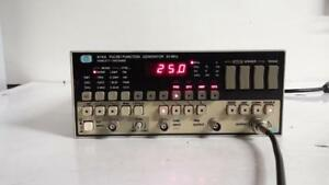 Hewlett Packard 8116a 50mhz Pulse function Generator