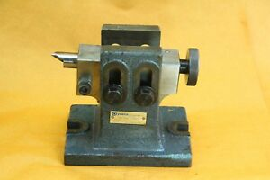 Yuasa Adjustable Tailstock For Rotary Table 553 301 Very Nice Works Well