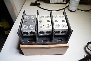Revised 1 ferraz Shawmut 500 Mcm 3pole Terminal Block 69093