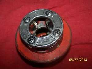 Ridgid 12 r 3 4 Ratchet Pipe Threader Die Head