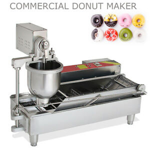 850pcs h Commercial Electric Automatic Cake Donuts Maker Doughnuts Machine Fryer
