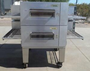 Lincoln 1600 Gas ng lpg Conveyor Pizza Oven Double Stack Warranty Available
