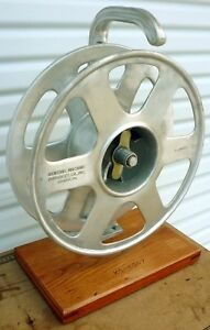 General Machine Products Gmp Terminal Wire Cable Reel L1 Brake Great Shape Usa