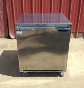 Beverage Air Ucf27a 24 23 tg Undercounter Freezer Single Solid Door 7 3 Cu Ft