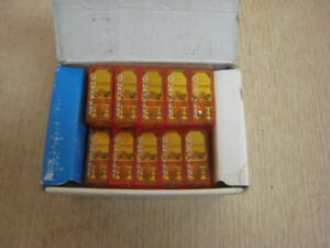 Box Of 10 New Finder 40 52 Relay 250v ac 8a Amp Free Shipping