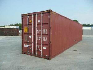 Used 40 Ft High Cube Shipping And Storage Container For Sale