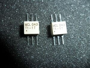 Tt1 5 1 Surface Mount Rf Transformer 50 Ohm 0 075 To 500 Mh Z tube Of 25