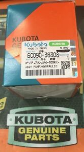Kubota Assy Pump Hydra Part 6c090 36308