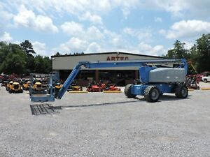 2005 Genie Z80 60 Boom Lift Jlg 80 Reach Articulating Jib Low Hours