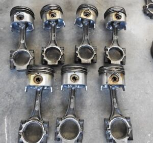 94 5 03 Ford 7 3 Powerstroke Diesel Engine Forged Connecting Rod With Piston