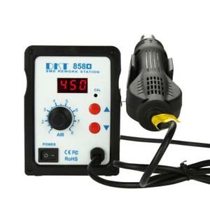 858d Hot Air Soldering Station Led Digital Soldering Heat Gun Welding Machine