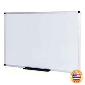 Viz pro Magnetic Dry Erase Board 36 X 24 Inches Silver 36 X 24 Inches