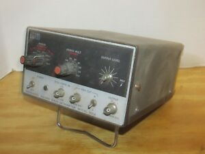 Vintage Monsanto Electronics Square Wave Signal Generator Model 301a Lqqk