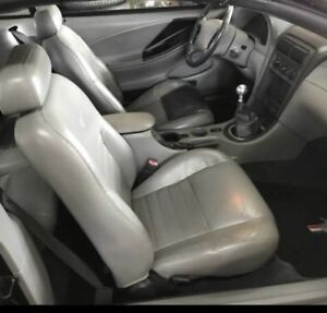 2001 Mustang Gt Gray Leather Passenger Seat