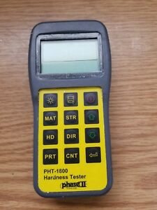 Phase Ii Pht 1800 Portable Hardness Tester Used
