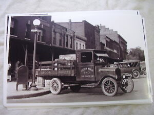 191 Ford Model T Stake Truck 11 X 17 Photo Picture