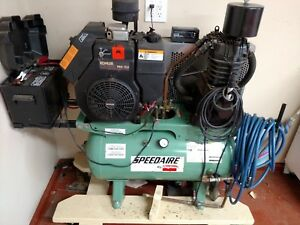Commercial Kohler Twin Engine Air Compressor Speedaire