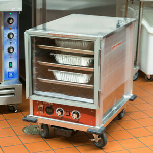 New Non insulated Heated Holding Proofing Cabinet W Clear Door