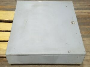 36 X 30 X 7 Steel Electrical Enclosure Large Junction Box Latch Wall Mount Panel