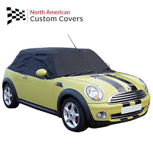 Rp115 Mini Cooper Cabrio Convertible Soft Top Roof Protector Half Cover 2004 On