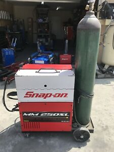 Snap on Welder Muscle Mig Mm250sl gs Local Pickup Only