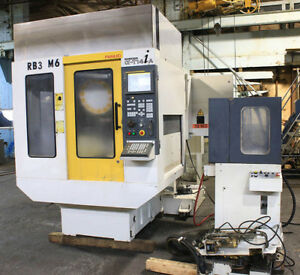 19 6 X 14 96 Y Fanuc Robodrill A t14 Vertical Machining Center Fanuc 16m nikk