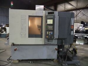 2005 Chiron Fz 08k W Magnum Vmc W pallet And Trunions Auto Clamping Fanuc 18im