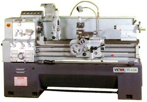 16 Swg 40 Cc Victor 1640b W special Package Engine Lathe D1 6 Camlock With 2