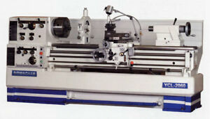 New Birmingham Ycl 22120 22 X 120 Gap Bed Engine Lathe W taper Attach Etc