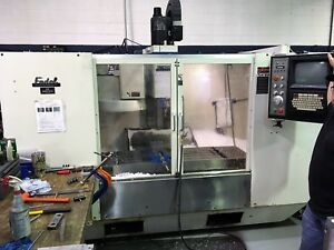 Fadal Vmc 4020 Cnc Vertical Mill 88hs Control 10 000 Rpm Box Ways