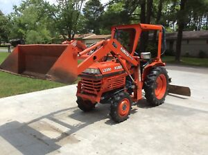 Kubota L2350 4x4 1998 Great Condition Only 328 Hours Diesel Engine