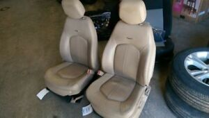 Pair Of Seats Aq9 With Power Lumbar Opt Al2 Fits 11 Cts 254255