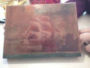 Printing Blocks Of Sailing Ships Lot Of 6 Cathy s Collectables