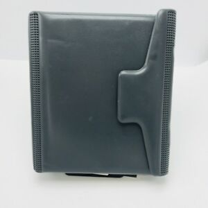 Day Runner Organizer Grey 3 Ring Classic Edition Planner 8 X 9 Never Used Vtg