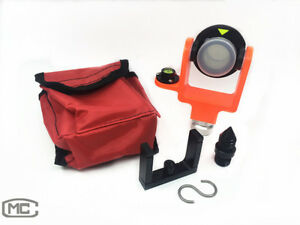 New Mini Prism For Total Station All Metal Fits Sokkia Topcon